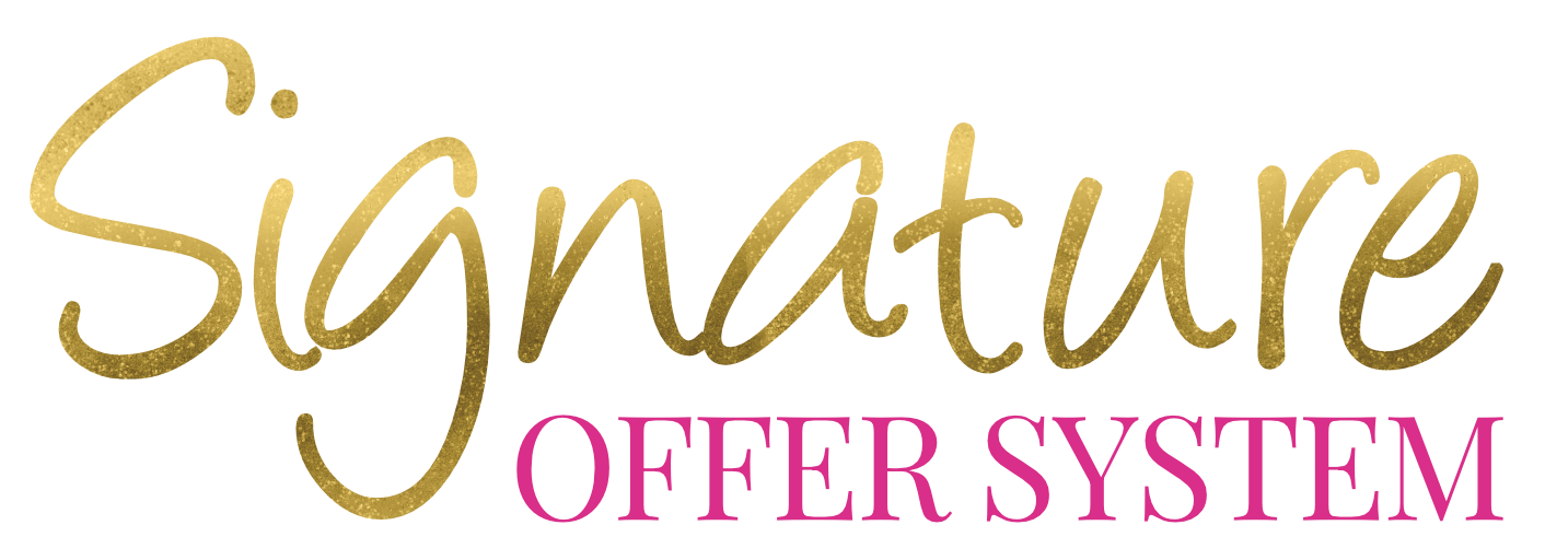 Signature Offer System